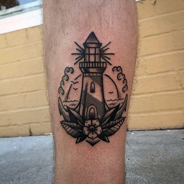 lighthouse-tattoo